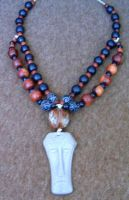 African style necklace by aequinox