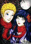 NaruHina Wedding (Fanart) by Lykie-chan