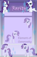 Rarity Journal Skin by Marcleine