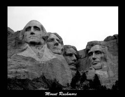 Mount Rushmore by underdogg101