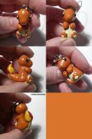 Charmander Charm by ChibiSilverWings