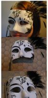 Masquerade Mask Complete by HelloBatty