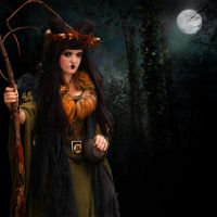 Wood Witch by thefantasim