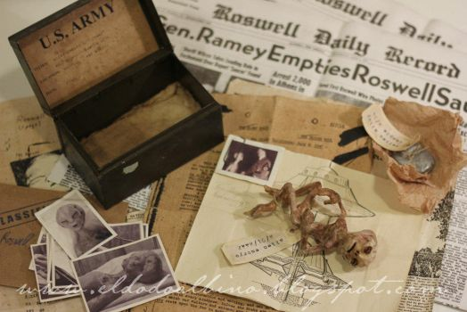 Roswell incident Prop set by dodoalbino
