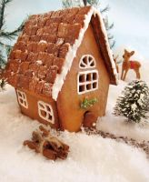 Gingerbread House by TreeseRB