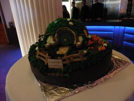 Lotr Shire Bilbo Hobbit home cake by Bat13SJx