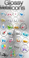 Metallic Mac Icons by YONIM83