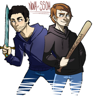 -I Got Your Back- Seamus and Nova by DeadliestCrusader