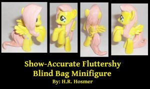 Show-Accurate Fluttershy Blind Bag by Gryphyn-Bloodheart