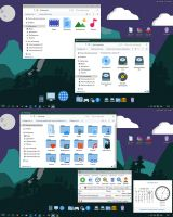 Flat Color W10 IconPack by alexgal23