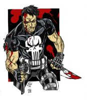 The Punisher Alex Riegel by Petulo