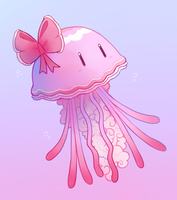 Parasol Jellyfish by HappyCrumble
