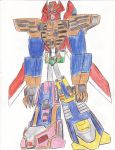 Zeo Megazord Re-animated by bigtimbears