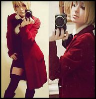 Alois Trancy _ Cosplay TEST by AlicexLiddell