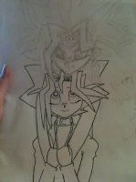 Happy Birthday, Yugi! WIP! by Fuchsianess
