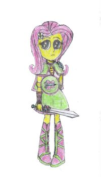 Equestria Chronicles-Fluttershy by Swordmaster200