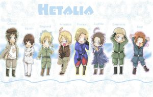 Hetalia Wallpaper by sachikiko-chan