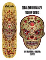 Sugar Skull Music Design Deck by reyjdesigns