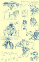 District 9 doodles. by mechaphilia