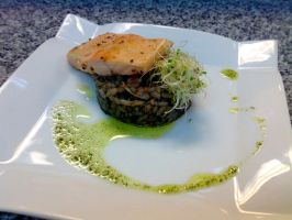 Risotto Negro by Foxdale