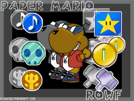 Rowf-Badge Master by Bowser81889