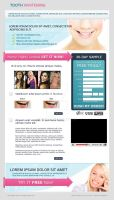 Landing Page Tooth Whitening by LETSOC