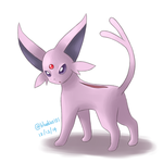 Request: Data the Espeon by Bluekiss131