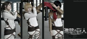 SnK - Aufbruch by kaminohime
