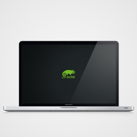 openSUSE Dark by malisremac