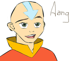 Avatar Aang DAMuro by elizagame