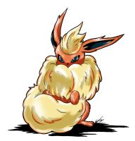 Flareon #136 by LuckyEd