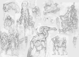 Sketchdump 2013 by awesomeplex