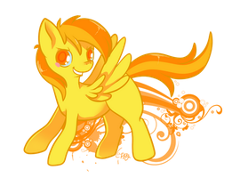 Golden Sky by cappydarn