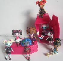 Lalaloopsy as Monster High by arkohio