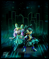 COM: Enter the Cyberspace by Azurelly