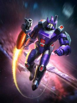 G1 Galvatron From Transformers Legends Game by DarthScholz