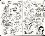 Sketchbook 4 by The-Mirrorball-Man