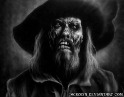 Captain Barbossa by Jackolyn