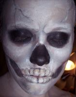 Skull Makeup by cindergirl