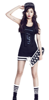HyunA (4Minute) PNG Render by GAJMEditions