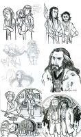 Tumblr Hobbit dump 2 by dances-with-hipsters