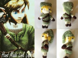 Crocheted Link Doll by DrVincent