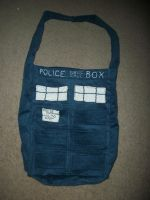 Doctor Who Tardis Bag by Schorchingskys