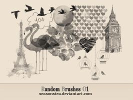 Random Brushes 01 by SeasonsTea