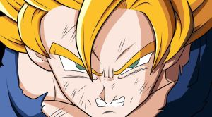 Collab: SSJ Goku by obsessive-fan-girl