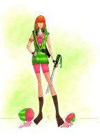 Watermelon Fruit Ninja by Sufon