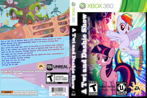 A Twi and Dashie Show Xbox 360 VG Mockup by YourFavoriteSenpai