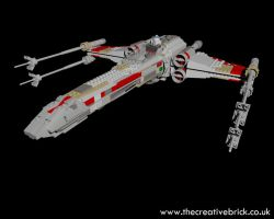 Lego Set 7191 - Star Wars X-Wing Fighter by thecreativebrick