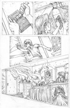 FUNHOUSE of HORRORS Page 11 Issue 4 by RudyVasquez
