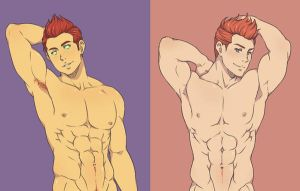 Redheads Can Be Dangerous by SAB1113